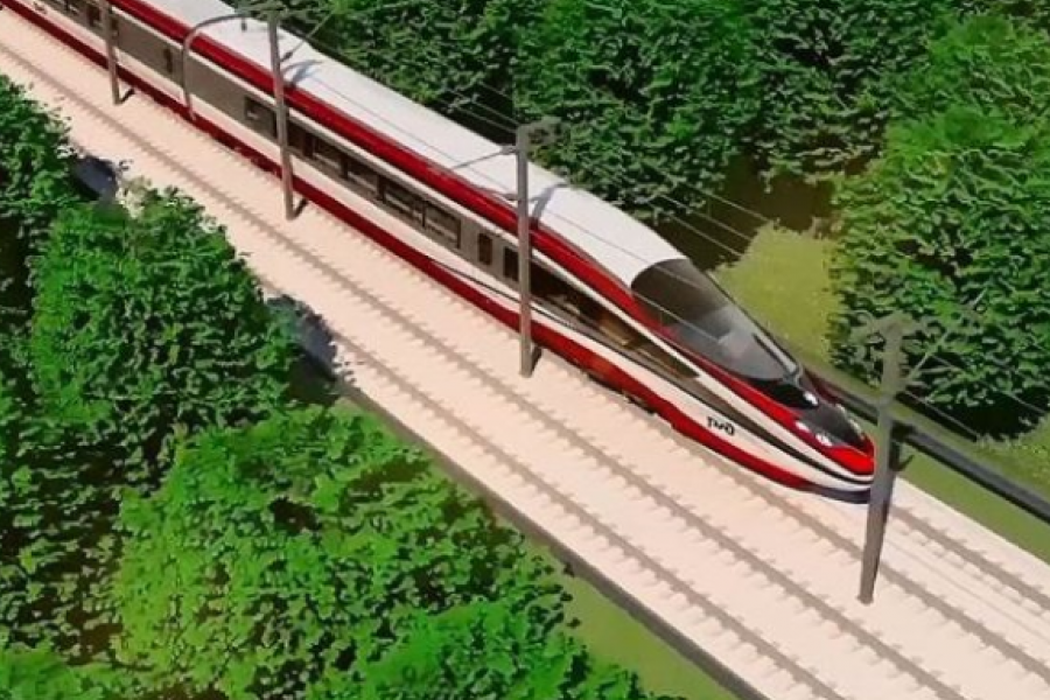 Проект скоростной железной дороги Петербург…